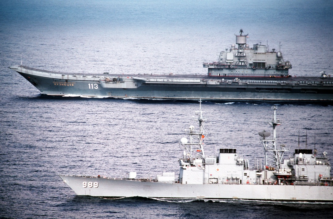 USS_Deyo_with_Admiral_Kuznesov