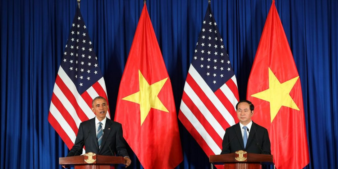 Obama in Hanoi