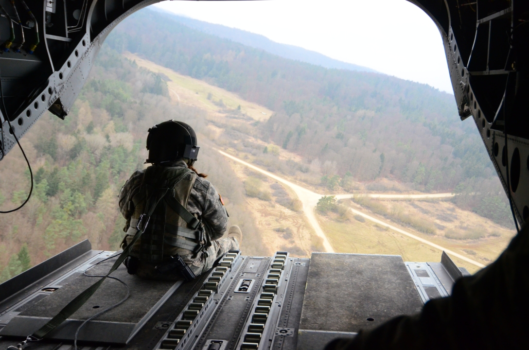 12th Combat Aviation Brigade mission rehearsal exercise